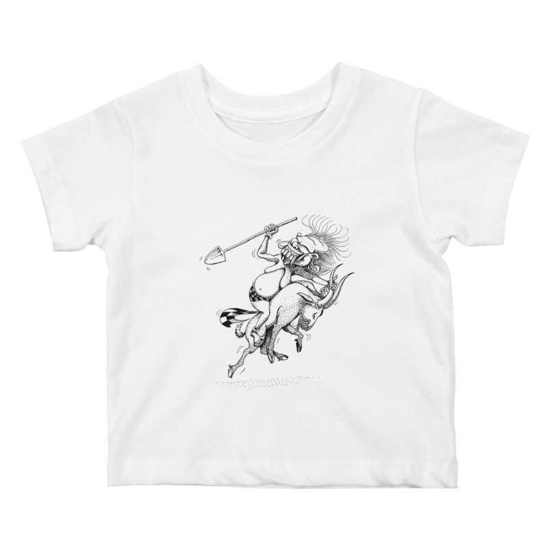 Celuluk Capricorn Kids Baby T-Shirt by DuMBSTRaCK CLoTH iNK PROJECT