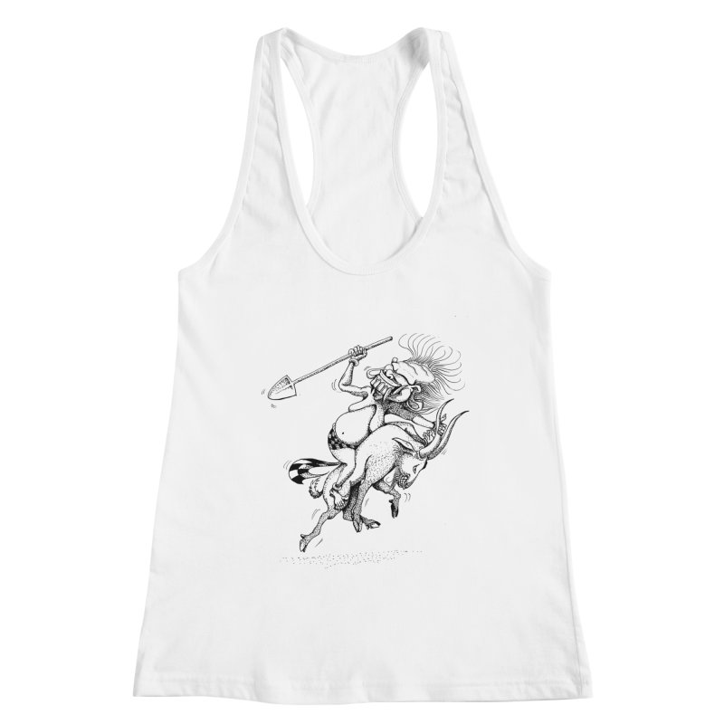 Celuluk Capricorn Women's Tank by DuMBSTRaCK CLoTH iNK PROJECT