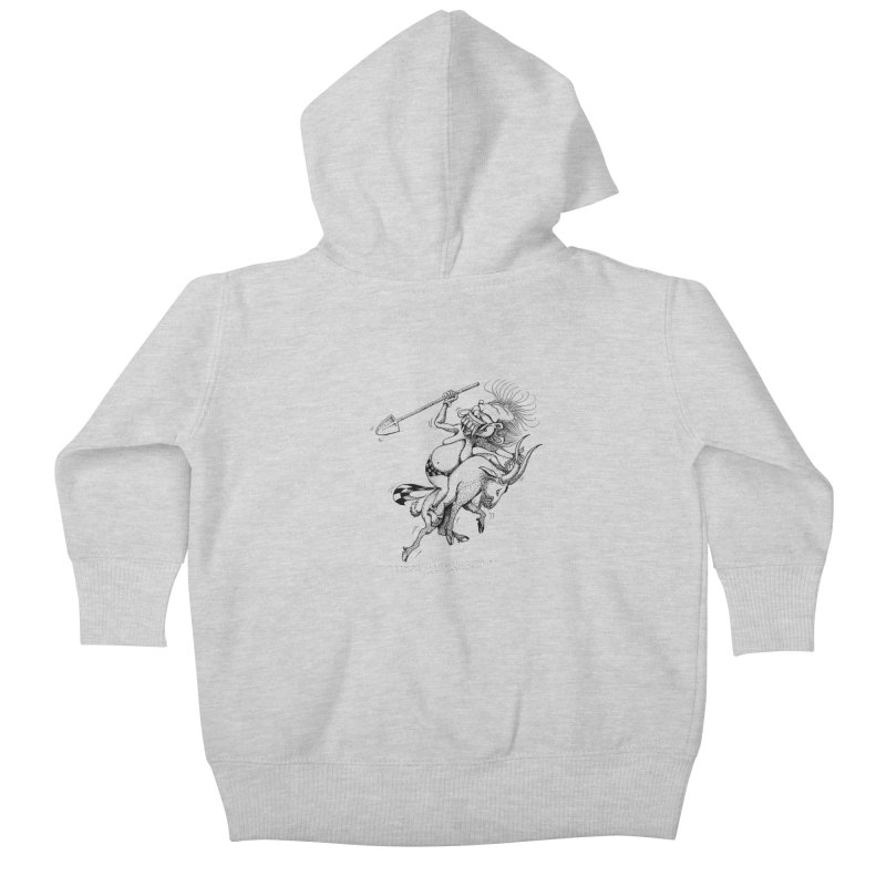 Celuluk Capricorn Kids Baby Zip-Up Hoody by DuMBSTRaCK CLoTH iNK PROJECT