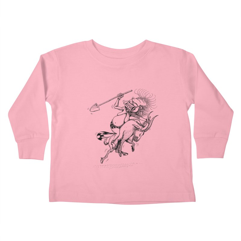 Celuluk Capricorn Kids Toddler Longsleeve T-Shirt by DuMBSTRaCK CLoTH iNK PROJECT