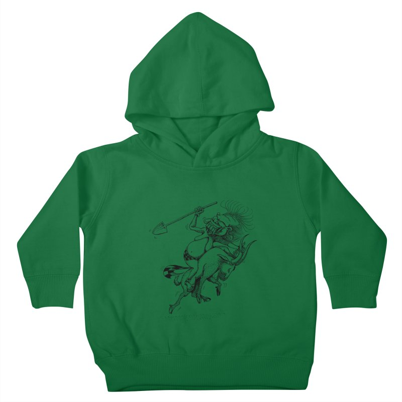 Celuluk Capricorn Kids Toddler Pullover Hoody by DuMBSTRaCK CLoTH iNK PROJECT