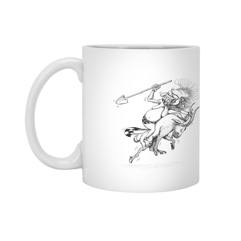 Celuluk Capricorn Accessories Mug by DuMBSTRaCK CLoTH iNK PROJECT