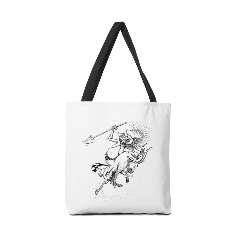 Celuluk Capricorn Accessories Tote Bag Bag by DuMBSTRaCK CLoTH iNK PROJECT
