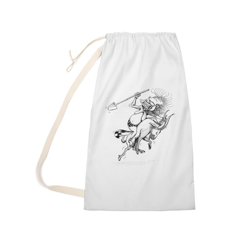 Celuluk Capricorn Accessories Laundry Bag Bag by DuMBSTRaCK CLoTH iNK PROJECT