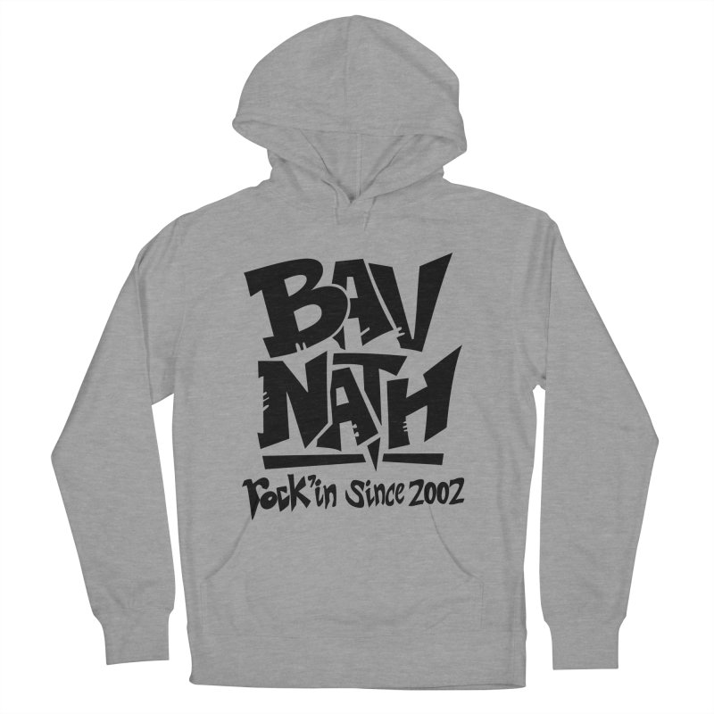 Bavnath Men's French Terry Pullover Hoody by DuMBSTRaCK CLoTH iNK PROJECT