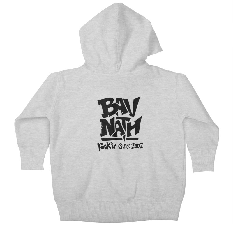 Bavnath Kids Baby Zip-Up Hoody by DuMBSTRaCK CLoTH iNK PROJECT