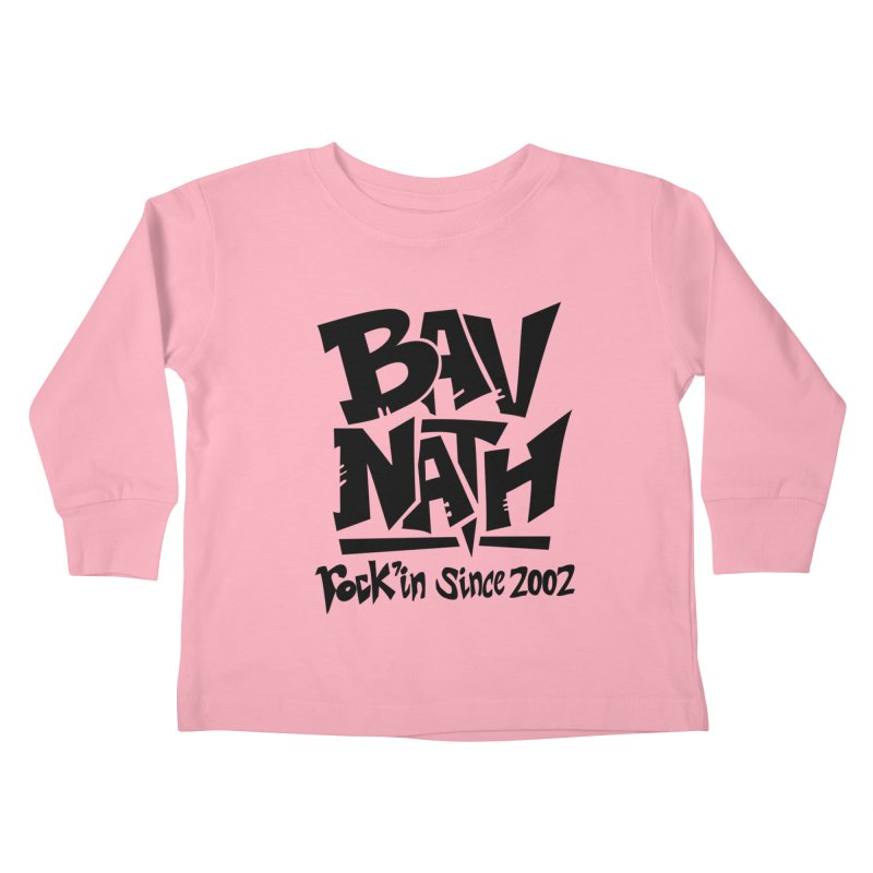 Bavnath Kids Toddler Longsleeve T-Shirt by DuMBSTRaCK CLoTH iNK PROJECT