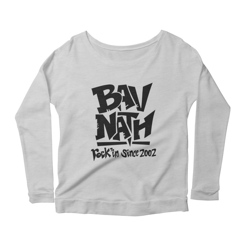 Bavnath Women's Scoop Neck Longsleeve T-Shirt by DuMBSTRaCK CLoTH iNK PROJECT