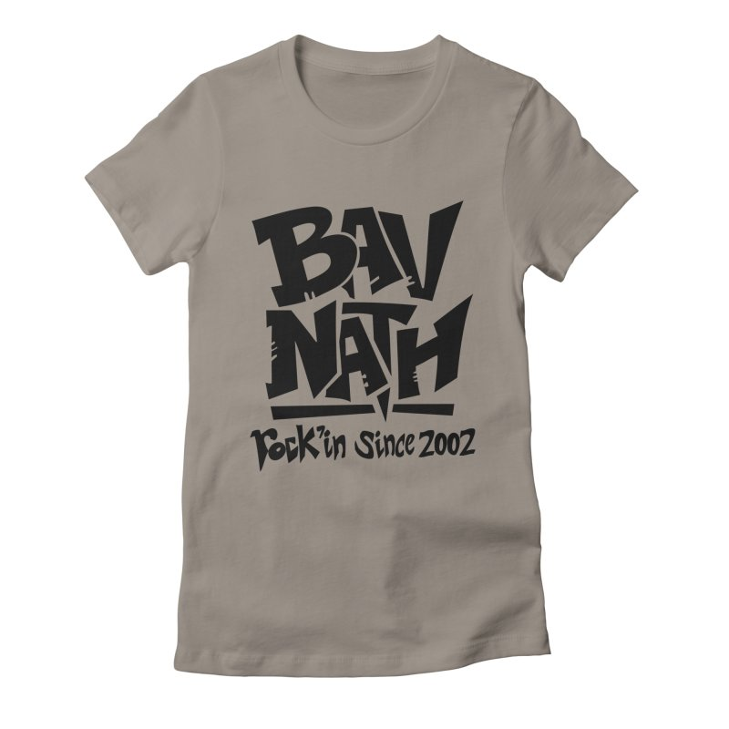 Bavnath Women's Fitted T-Shirt by DuMBSTRaCK CLoTH iNK PROJECT