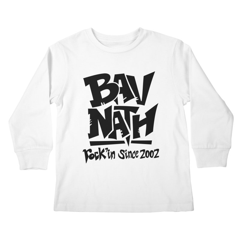 Bavnath Kids Longsleeve T-Shirt by DuMBSTRaCK CLoTH iNK PROJECT