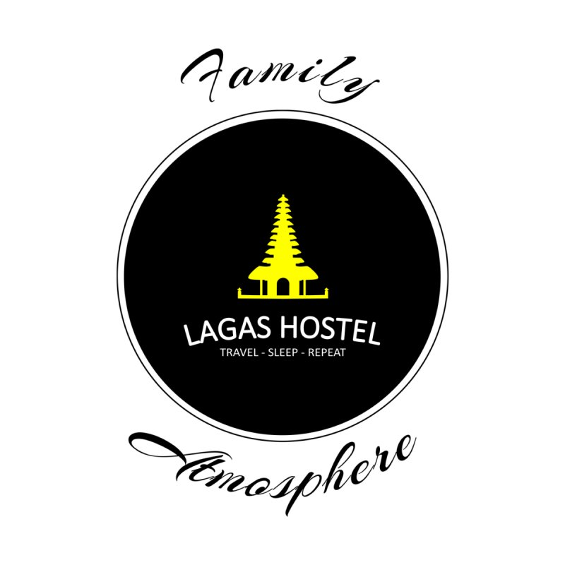 Family Atmosphere Lagas Hostel Men's Longsleeve T-Shirt by DuMBSTRaCK CLoTH iNK PROJECT
