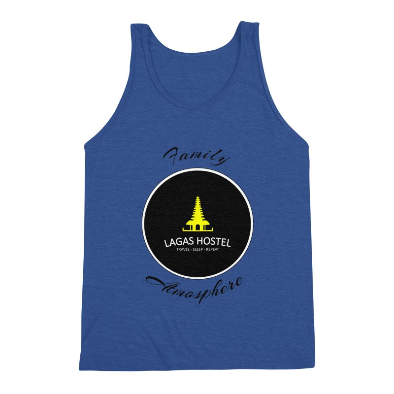 Family Atmosphere Lagas Hostel Men's Tank by DuMBSTRaCK CLoTH iNK PROJECT