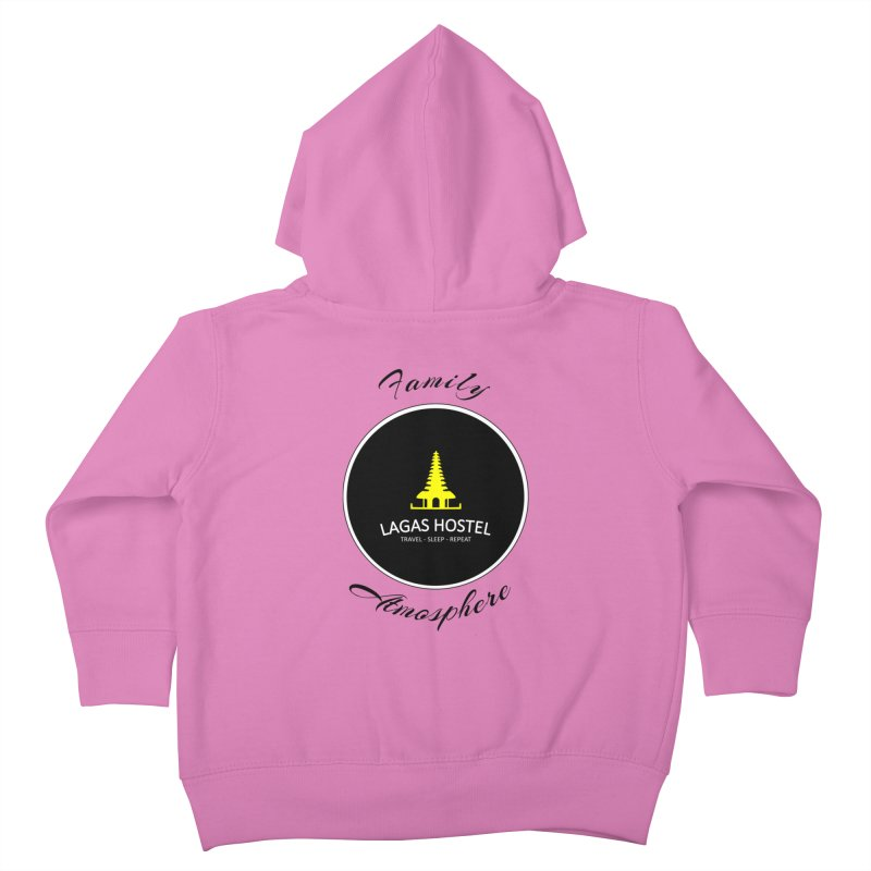 Family Atmosphere Lagas Hostel Kids Toddler Zip-Up Hoody by DuMBSTRaCK CLoTH iNK PROJECT
