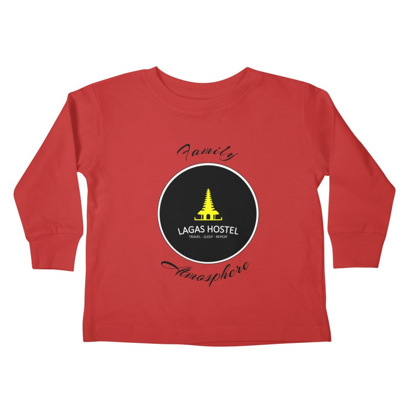 Family Atmosphere Lagas Hostel Kids Toddler Longsleeve T-Shirt by DuMBSTRaCK CLoTH iNK PROJECT