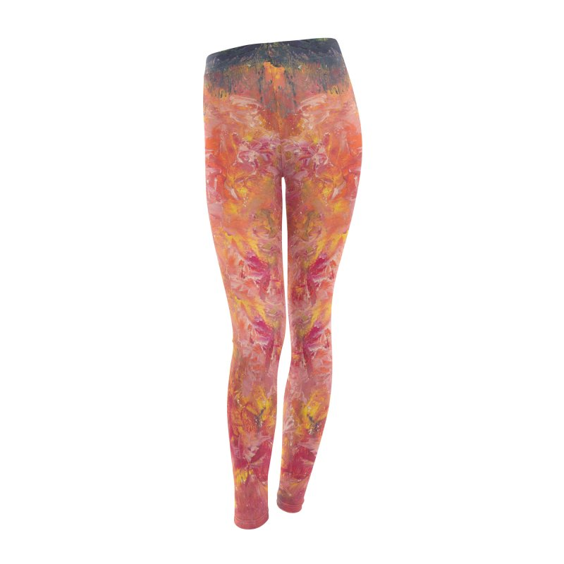 Landacape #5 Women's Leggings Bottoms by duocuspdesign Artist Shop