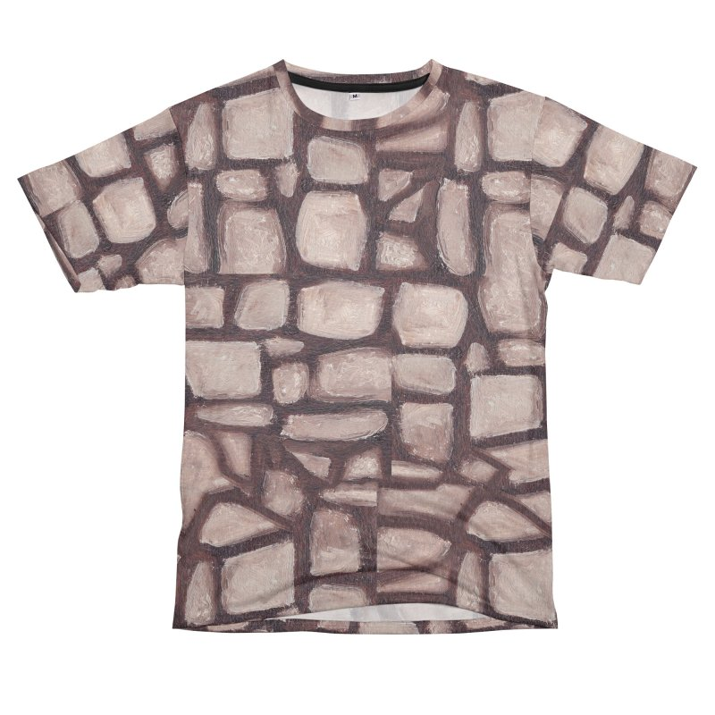 The Wall in Men's T-Shirt Cut & Sew by duocuspdesign Artist Shop