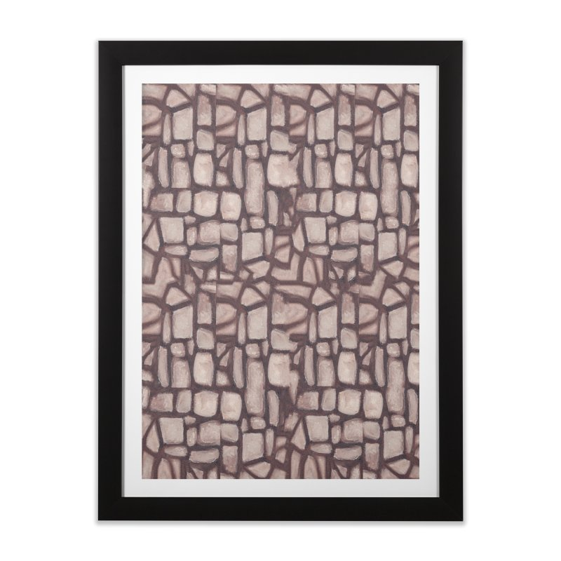 The Wall Home Framed Fine Art Print by duocuspdesign Artist Shop