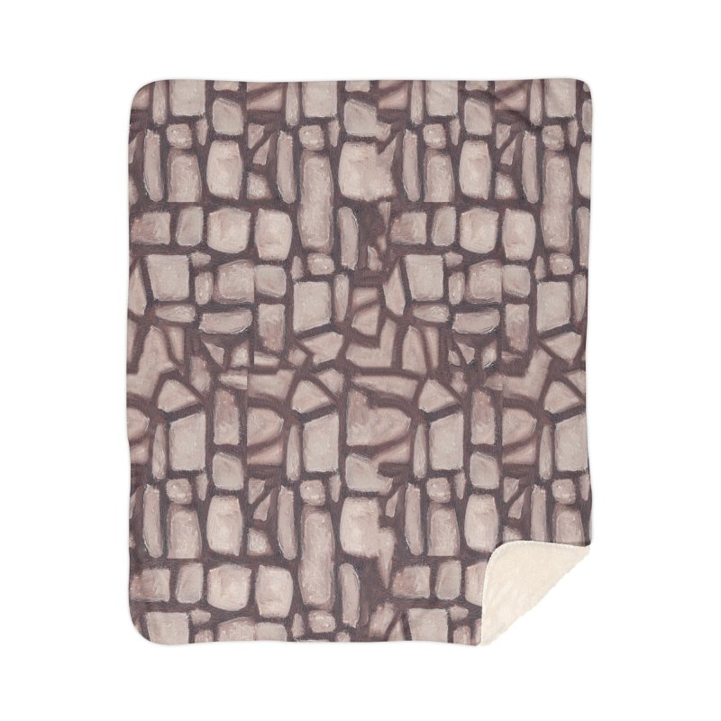 The Wall Home Sherpa Blanket Blanket by duocuspdesign Artist Shop