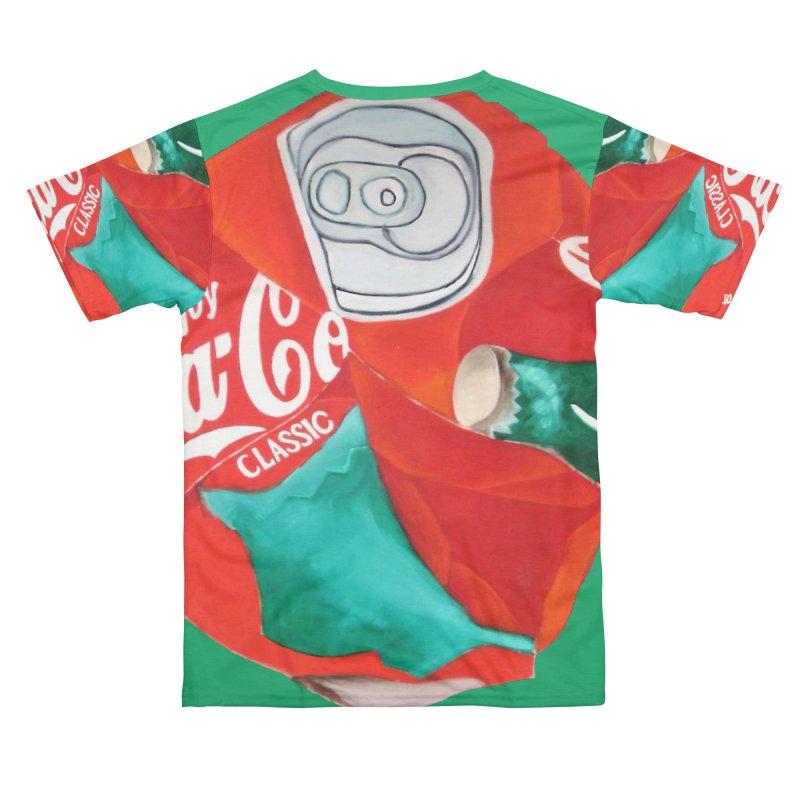 Crushed Coke in Green Men's Cut & Sew by duocuspdesign Artist Shop
