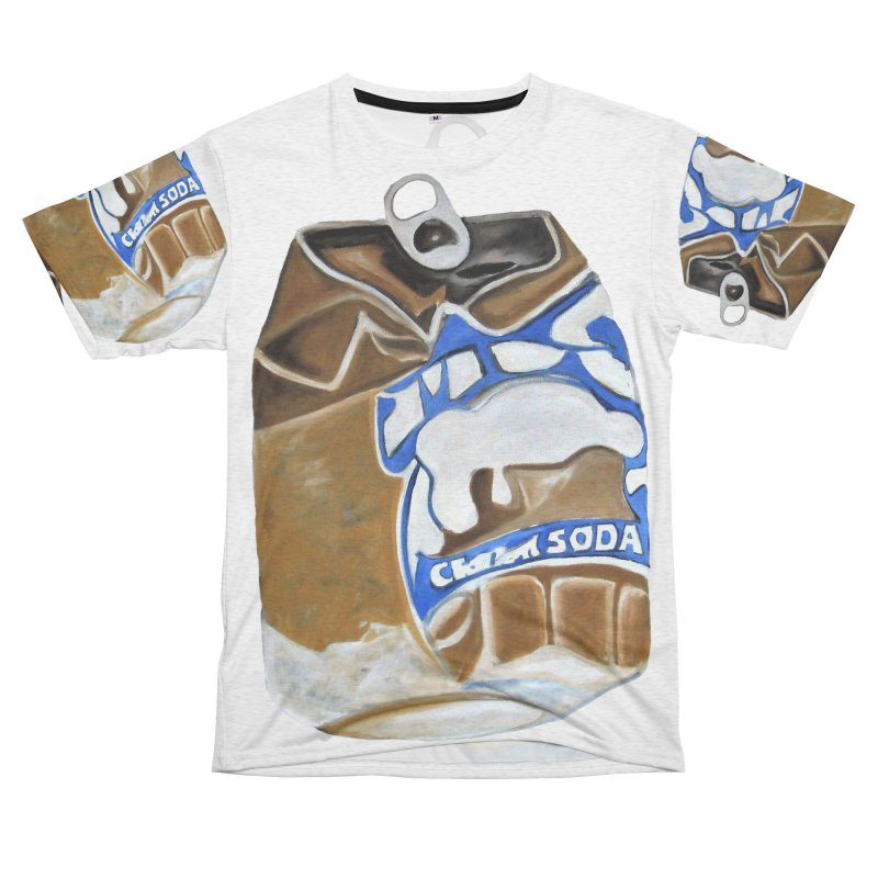 Mug Cream Soda Crushed Can Series Men's Cut & Sew by duocuspdesign Artist Shop