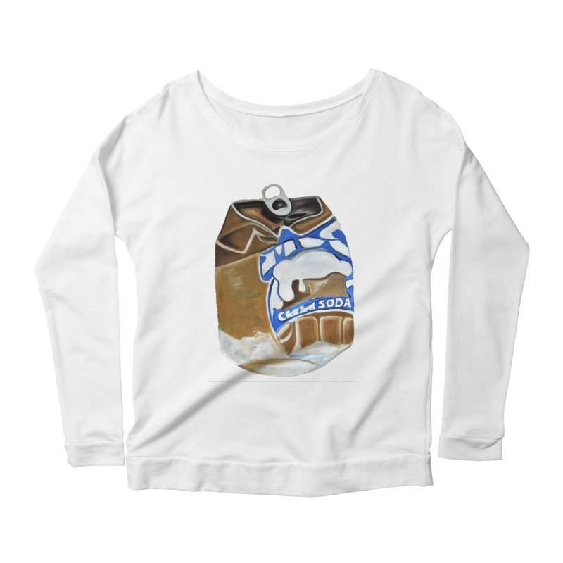 Mug Cream Soda Crushed Can Series Women's Longsleeve T-Shirt by duocuspdesign Artist Shop