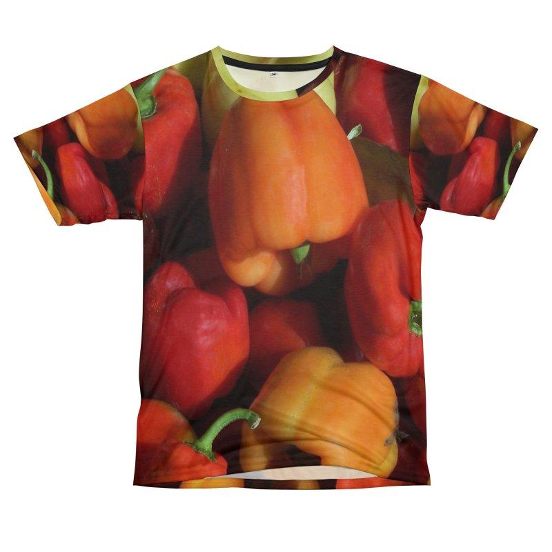 Peppers in Men's T-Shirt Cut & Sew by duocuspdesign Artist Shop