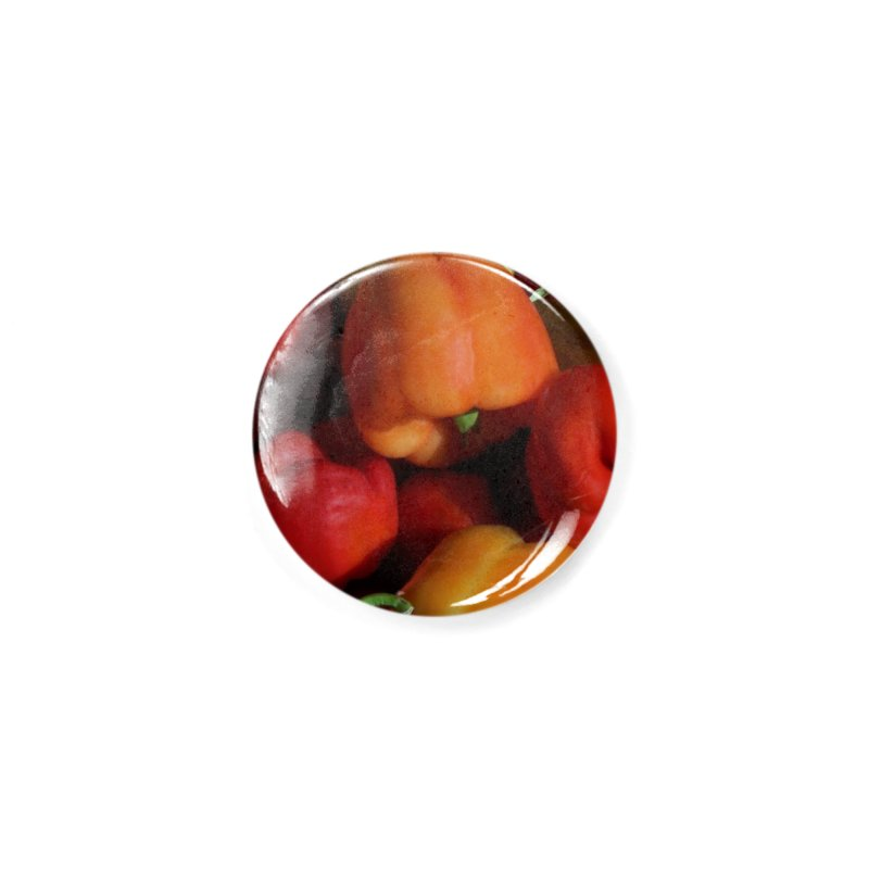 Peppers Accessories Button by duocuspdesign Artist Shop