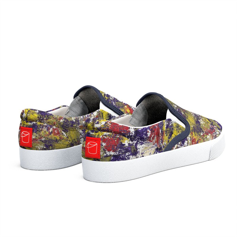 Early Moon and Wildflowers Women's Shoes by duocuspdesign Artist Shop