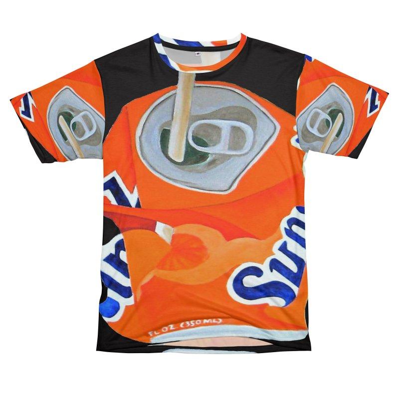 Sunkist Crushed Men's T-Shirt Cut & Sew by duocuspdesign Artist Shop