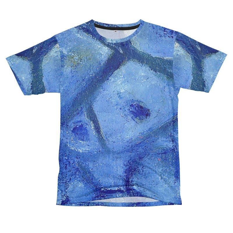 Blue Poppies Men's Cut & Sew by duocuspdesign Artist Shop