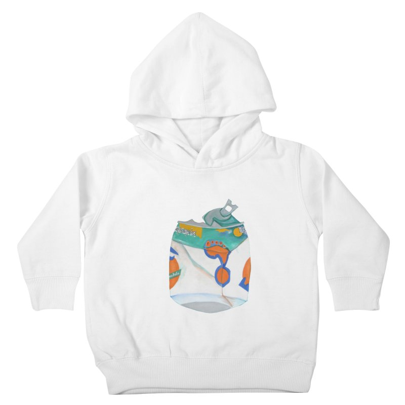 Fanta Soda Crushed Kids Toddler Pullover Hoody by duocuspdesign Artist Shop