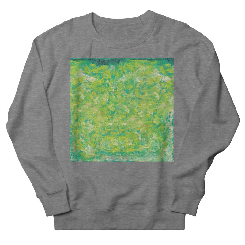 Green Summer Surprise Men's French Terry Sweatshirt by duocuspdesign Artist Shop