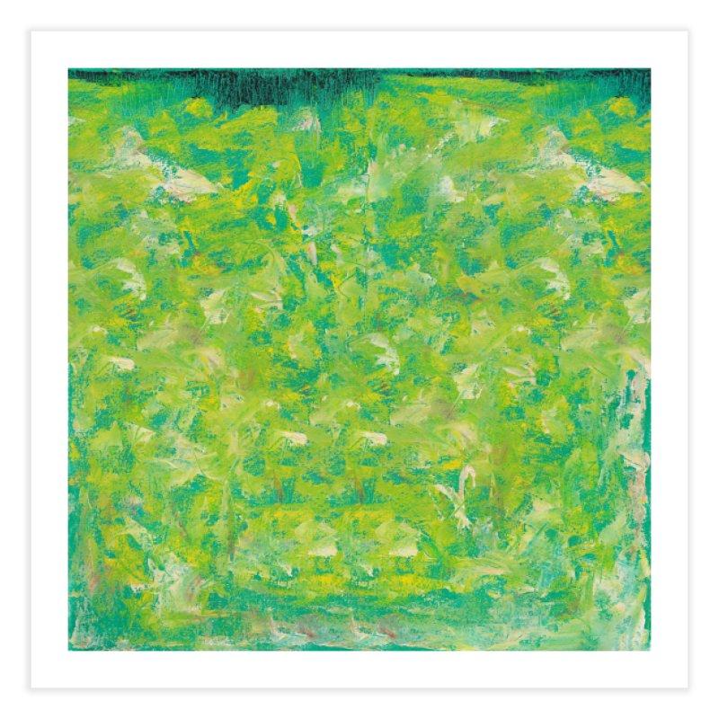 Green Summer Surprise Home Fine Art Print by duocuspdesign Artist Shop