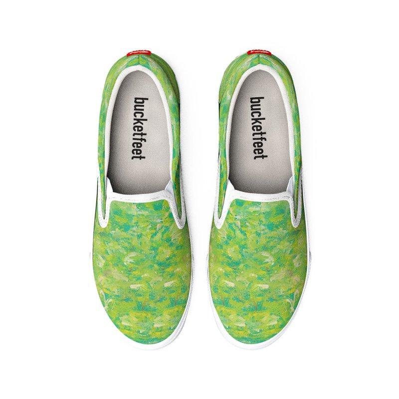 Green Summer Surprise Women's Shoes by duocuspdesign Artist Shop
