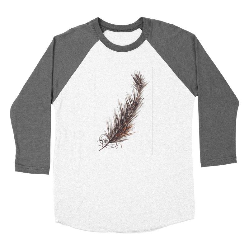 Feather Men's Baseball Triblend Longsleeve T-Shirt by duocuspdesign Artist Shop