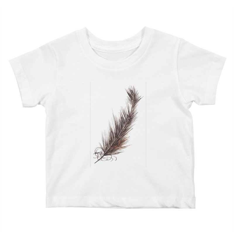 Feather Kids Baby T-Shirt by duocuspdesign Artist Shop