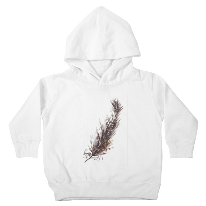 Feather Kids Toddler Pullover Hoody by duocuspdesign Artist Shop