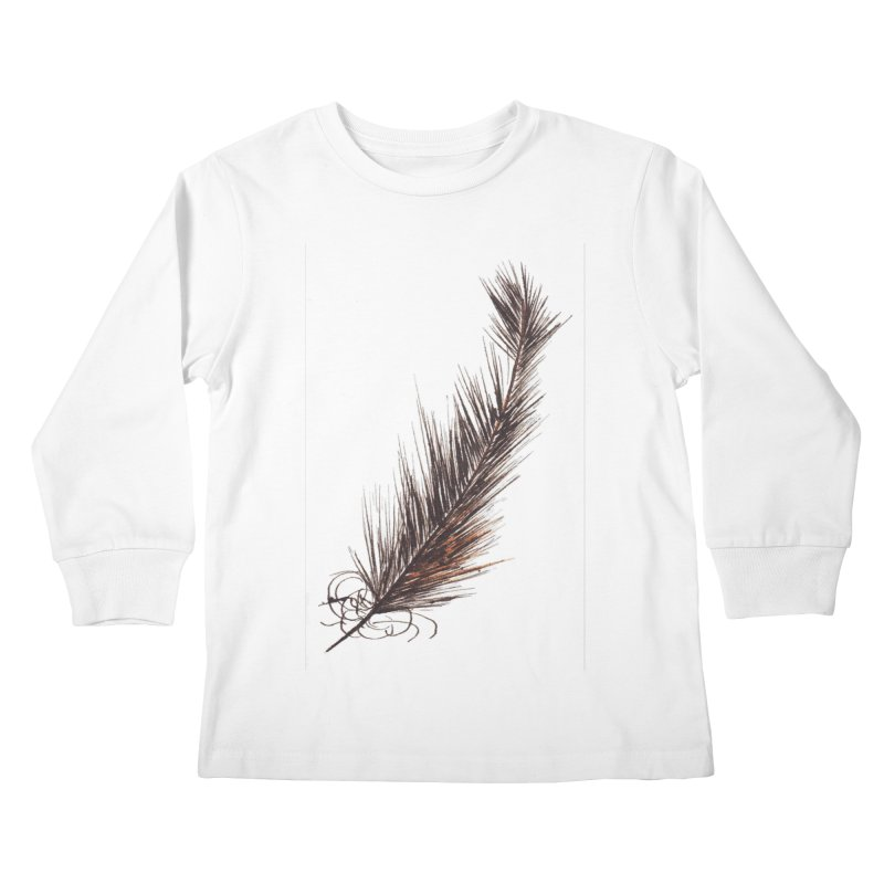 Feather Kids Longsleeve T-Shirt by duocuspdesign Artist Shop