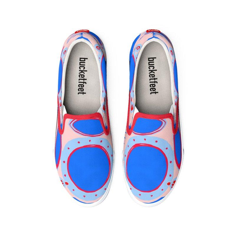 Portal/Nautical Woodcut Men's Shoes by duocuspdesign Artist Shop