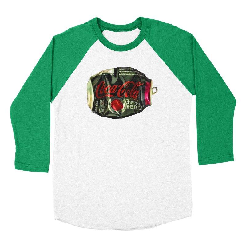 Cherry Coke Crushed Men's Baseball Triblend Longsleeve T-Shirt by duocuspdesign Artist Shop