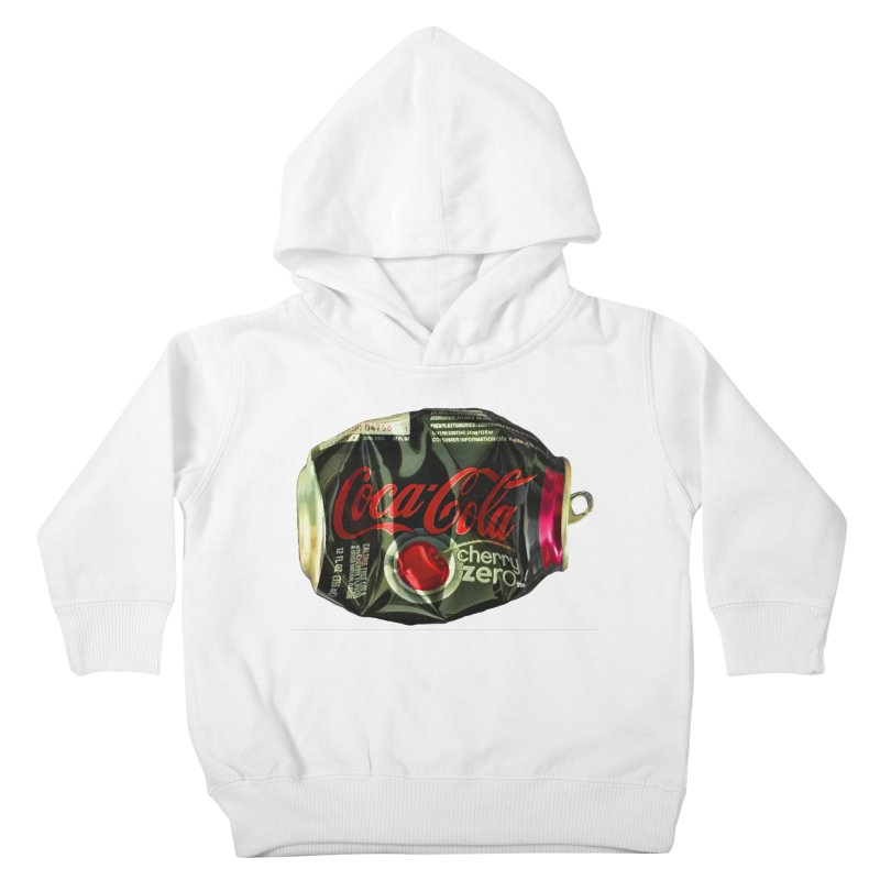 Cherry Coke Crushed Kids Toddler Pullover Hoody by duocuspdesign Artist Shop