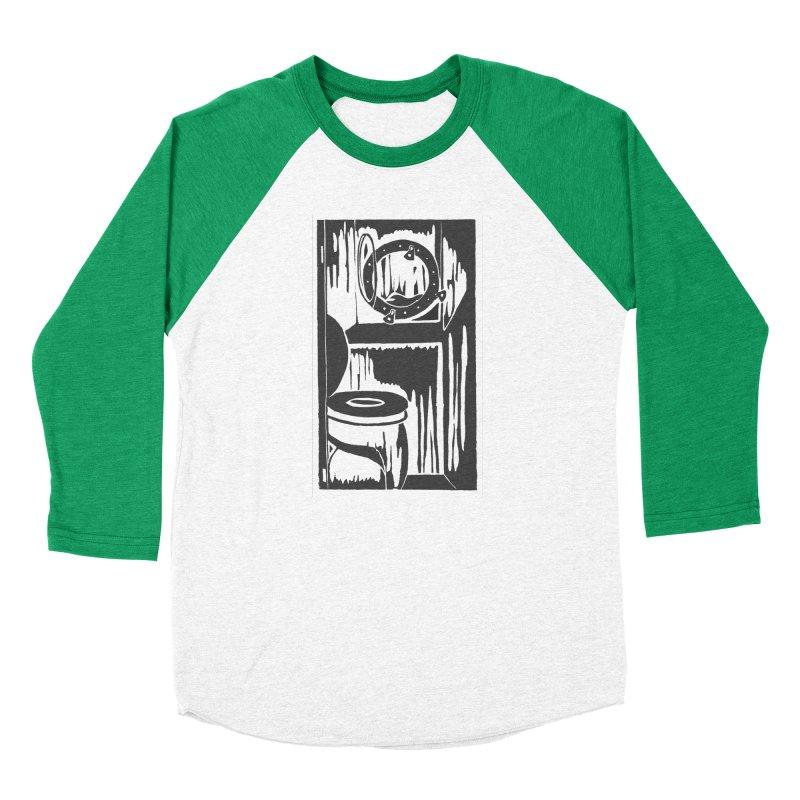 Head/Nautical Woodcut Men's Longsleeve T-Shirt by duocuspdesign Artist Shop
