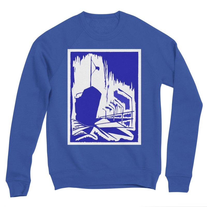 Docked/Nautical Woodcut Women's Sponge Fleece Sweatshirt by duocuspdesign Artist Shop
