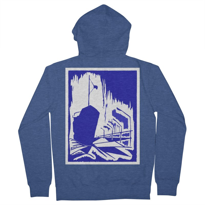 Docked/Nautical Woodcut Women's Zip-Up Hoody by duocuspdesign Artist Shop