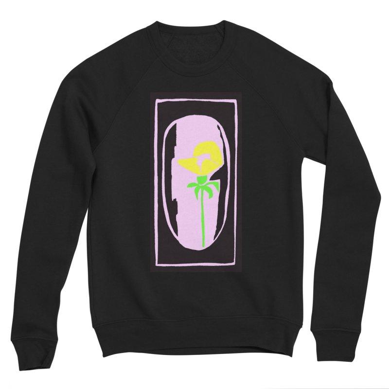 Flower/Woodcut Women's Sponge Fleece Sweatshirt by duocuspdesign Artist Shop