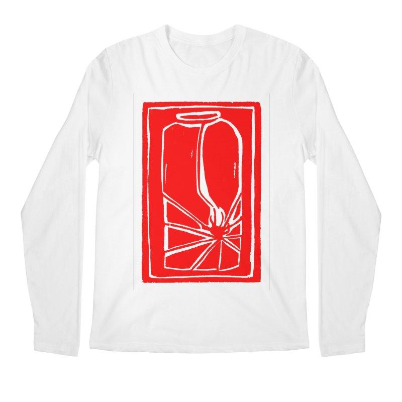 Spider in Jar/Woodcut Men's Regular Longsleeve T-Shirt by duocuspdesign Artist Shop