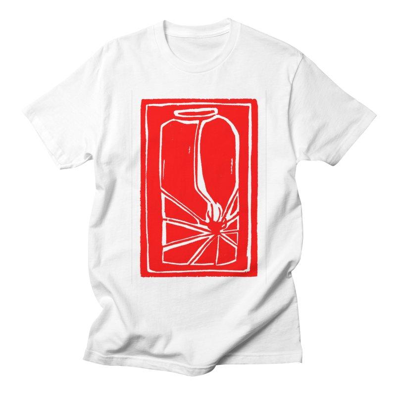 Spider in Jar/Woodcut Men's T-Shirt by duocuspdesign Artist Shop
