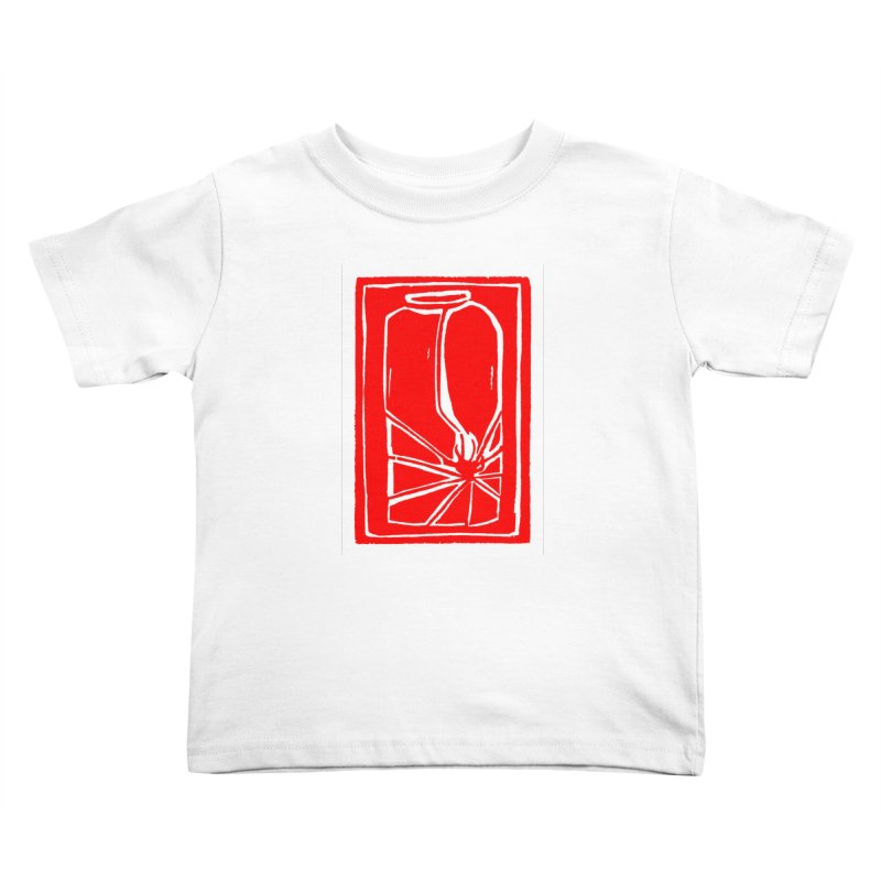 Spider in Jar/Woodcut Kids Toddler T-Shirt by duocuspdesign Artist Shop