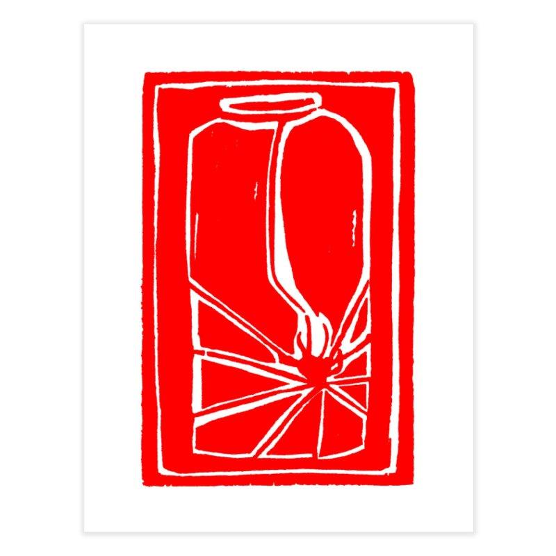 Spider in Jar/Woodcut Home Fine Art Print by duocuspdesign Artist Shop