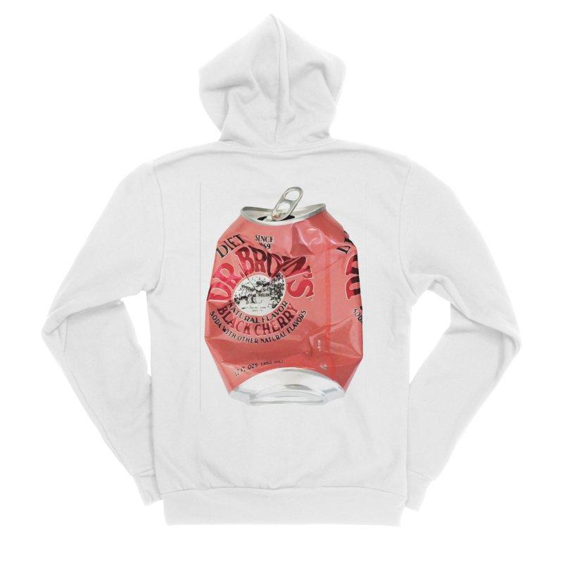 Dr. Brown's Soda Crushed Men's Sponge Fleece Zip-Up Hoody by duocuspdesign Artist Shop